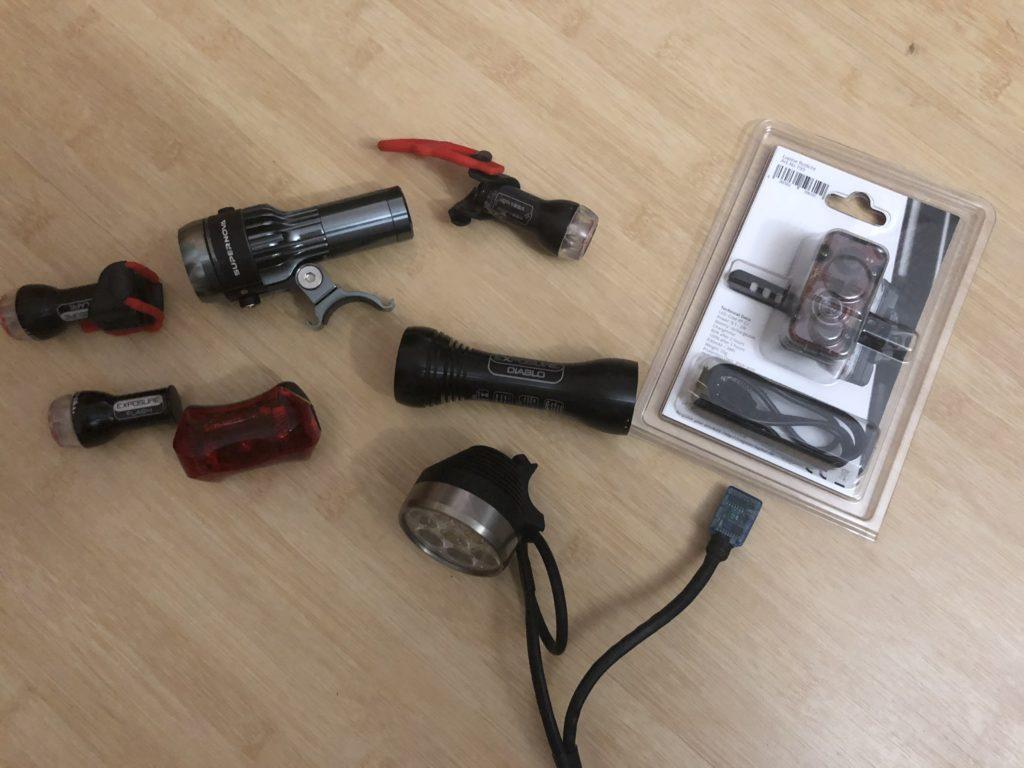Fahrrad Helmlampen